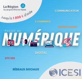 Passez au digital grâce aux aides de la Région Auvergne-Rhône-Alpes