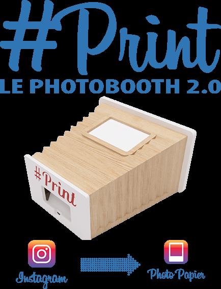 Partagez vos soirées avec l'impression #Print by Ouistitibooth