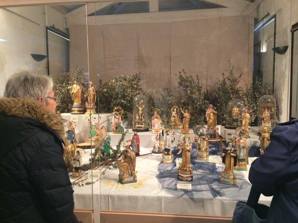 Exposition Santibelli, figurines de Provence à Saint-Uze