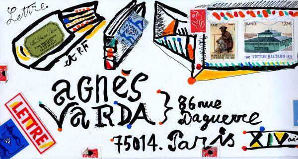 Exposition  « Agnés Varda Correspondances »  au Palais Idéal du facteur Cheval