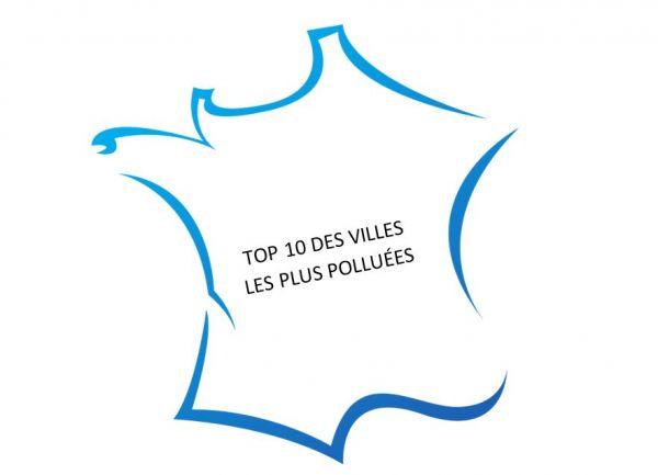 Les villes les plus polluées de France