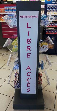 Meuble Libre Accès