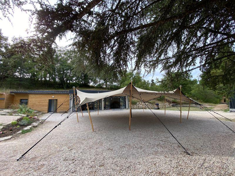 Location de tente nomade au Gîte des Ayasses - Drôme