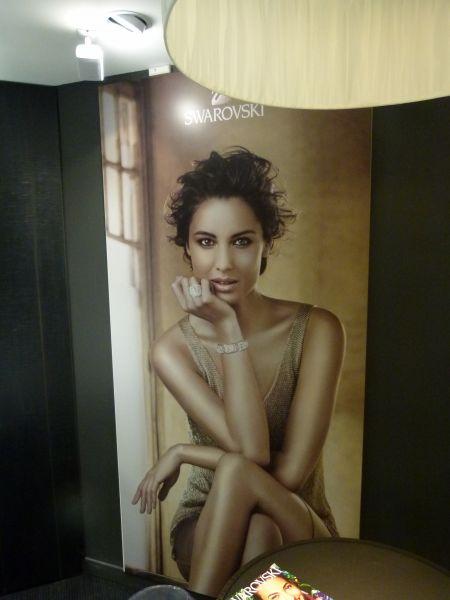 Affiche pour magasin de luxe à Lyon