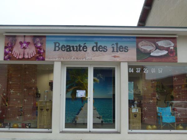 Panneau imprimé pour salon de beauté à Meyzieu