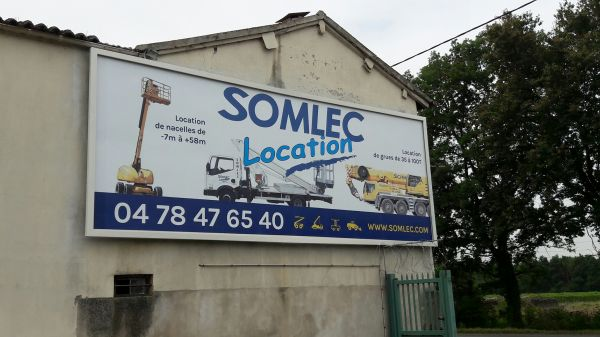 Panneau de façade Villefranche sur saône