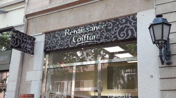 enseigne pour salon de coiffure Lyon