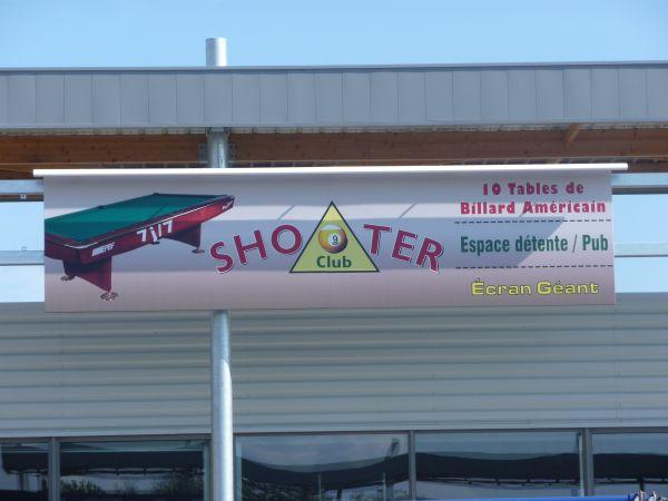 Enseigne panneau pour bowling à Lyon