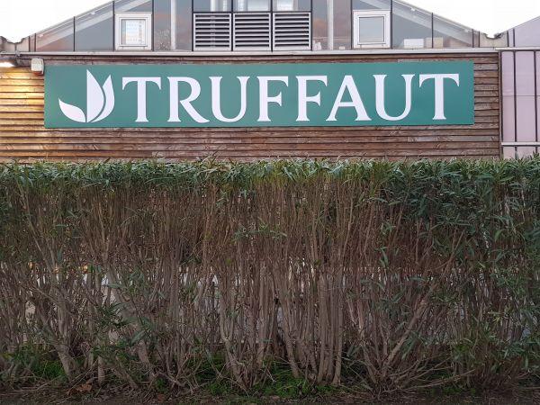 Panneau grand format pour les jardineries TRUFFAUT