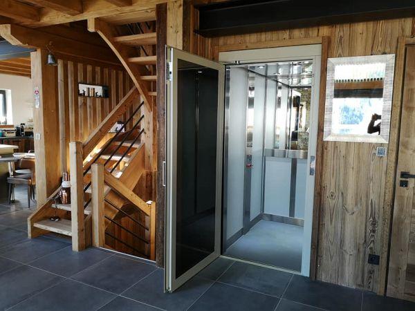 Ascenseur maison 3 niveaux aux 2 Alpes (38)