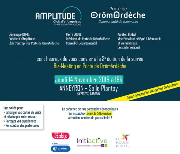 Biz-meeting Drome Ardèche - ANNULE POUR CAUSE DE NEIGE !