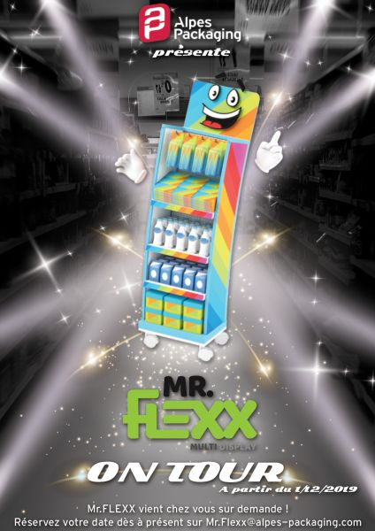Mr Flexx part en tournée... de promotion !