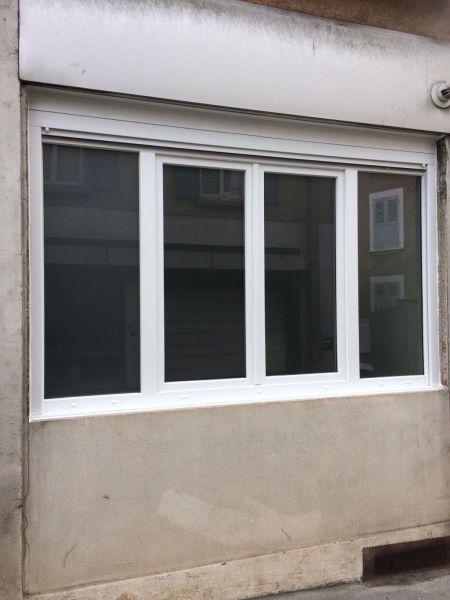 Rénovation d'une fenêtre 4 vantaux en gamme PVC KOMMERLING
