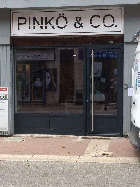Rénovation d'une vitrine de magasin