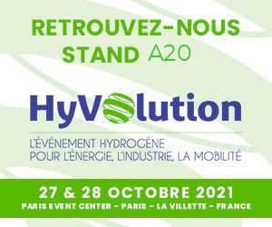 Hyvolution - l'événement Hydrogène pour l'énergie, l'industrie, la mobilité - édition 2021