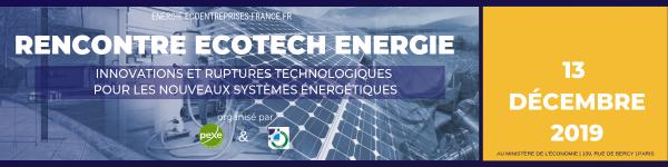 Journée Rencontre ECOTECH ENERGIE 2019
