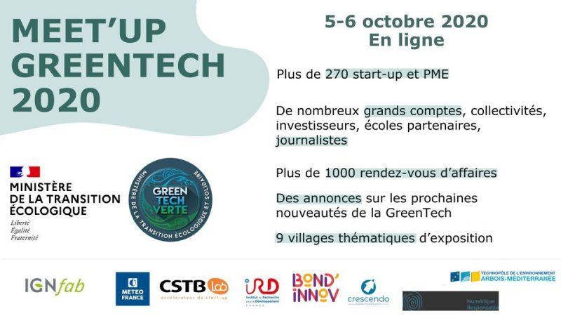 Conférence « Meet'Up GreenTech 2020 »