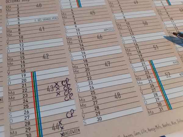 Comment calculer les jours de congés payés pris ?