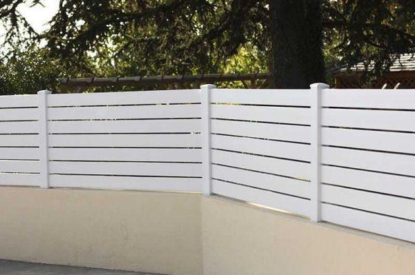 Pose d'une clôture pour maison individuelle