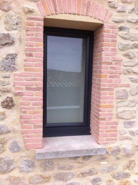 Rénovation de fenêtres PVC anthracites