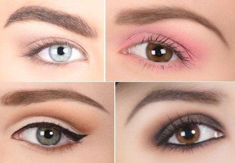 Les différents maquillages des yeux