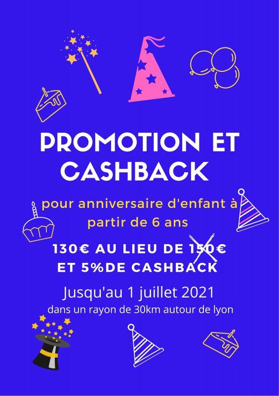 Promotion et Cashback