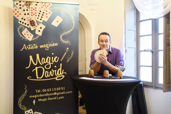 Un magicien pour votre fête