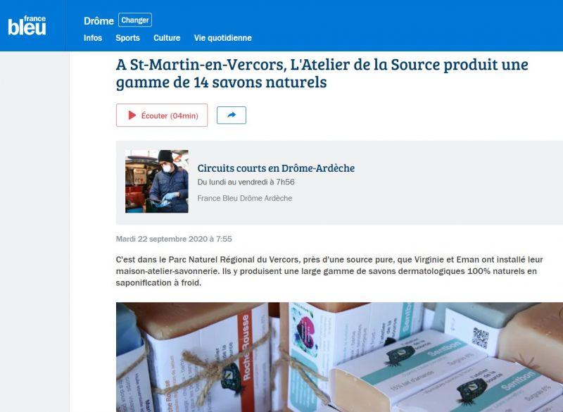 Interview Radio France Bleu