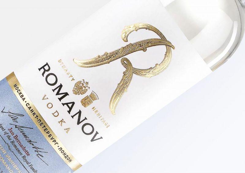 La vodka Romanov