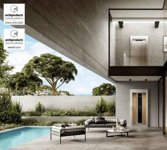 LE HOME LIFT E20 REMPORTE LE PRIX ARCHIPRODUCTS DESIGN AWARD !