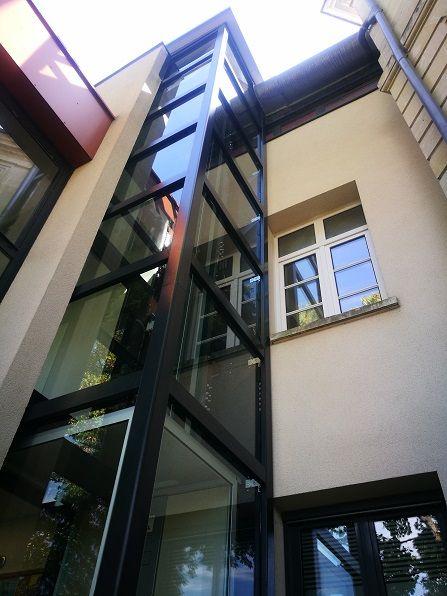 Ascenseur exterieur privatif Ecovimec
