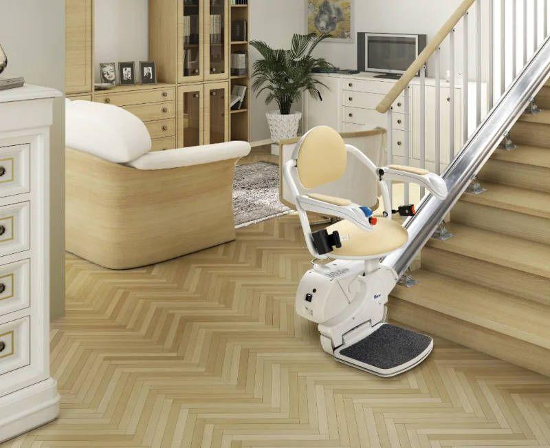 Fauteuil monte-escalier pour escaliers droits