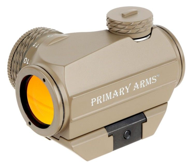PRIMARY ARMS MICRO RED DOT - TAN